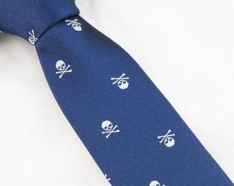 Skulls Tie,Mens Necktie,Black Skull Tie,Personalized Wedding Tie,Mens Skull Necktie,Mens Grooming,Tie for Party,Tie for wedding,Mens Gifts