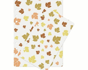 A5 Dashboard maple leaves