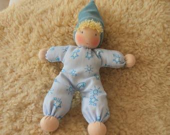 Fritz, cuddle doll, Babies first doll