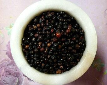 Juniper Berries (whole) - Magickal Herb - Protection, Hex (Curse) - Breaking, Health, Love