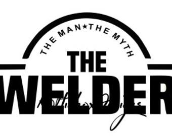 The Welder Svg, Welding Svg, Welder Svg, Dxf For Silhouette