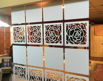 Rose Wall with Blanks