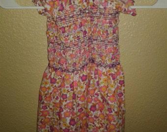 Baby Girls 18 to 24 months 70s halter top Sun Dress 2t