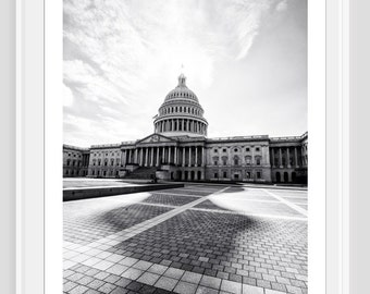 Fine art print photo art Washington D.C. Capitol