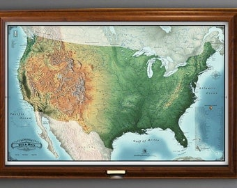 National park map etsy the new 2017 national parks travel map 24x36 personalized travel map ready to hang sciox Image collections
