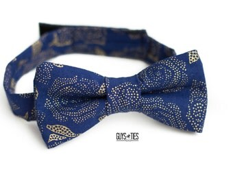 navy and gold bow ties, rose gold bow tie, navy self tie bow tie, boys navy bow tie, wedding floral bow tie, mens rose bow tie, rose bow tie