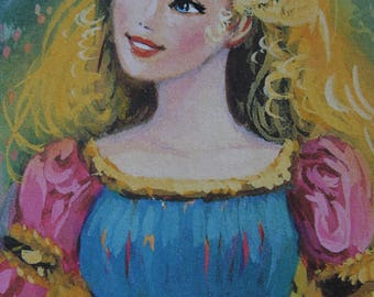 12x Barbie note cards and envelopes. Barbie, Rapunzel blank thank you cards, invitation cards, bookmarks. Princess thank you cards.