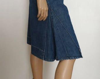 Bermuda/jupe-culotte LEVIS bleu taille 28