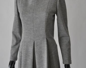 Geoffrey Beene Grey Knit Dress