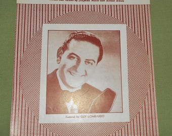 1950 Sheet Music ~ Music ! Music ! Music! Put Another Nickel In ~ Guy Lombardo