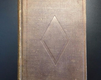 A Place in Thy Memory, S. H. DeKroyft, 1854, Early Edition of this Blind-Literature Classic