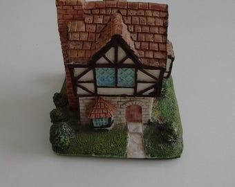 Small Tudor House for Christmas Village