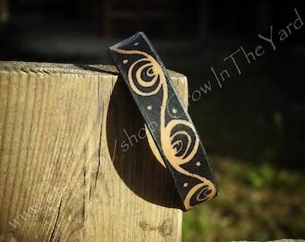 """Leather Bracelet/Anklet 7.5"""""""