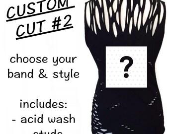 Custom Cut #2 (+ bleach/studs)
