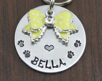 Dog tag, Dog ID tag, Dog name tag, Dog tags for dogs, Personalized dog tag, Pet tag, Pet ID tag, Collar name tag, Custom pet tag