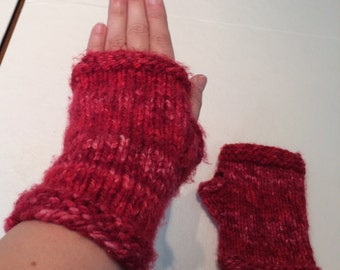 Winter Fingerless Mitts