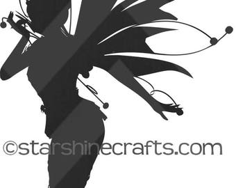 Fairy SVG for personal cutting machines - instant download