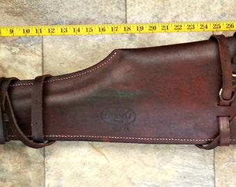 """Dunn's Leather Rifle/Shotgun Scabbard, 29"""""""