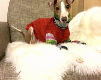 Italian Greyhound Fleece Sweater