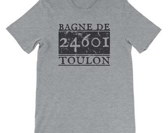 Les Mis Musical Shirt, Les Miserables Musical Shirt, Jean Valjean Prisoner 24601 Shirt, Musical Theatre Geek, Stocking Stuffer