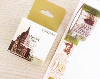 Cute washi tape - London | Cute Stationery