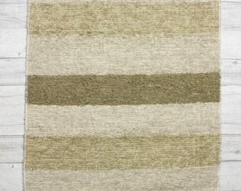 Neutral Hall Runner. 65x230 cm. (2'2'x 7'6 ft) Carpet Runner , Runner rug, hall runner, rug runner Handwoven | Eco-Friendly | Washable