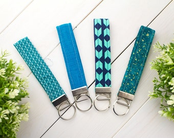Key Fobs/Wristlets (Blue Collection)