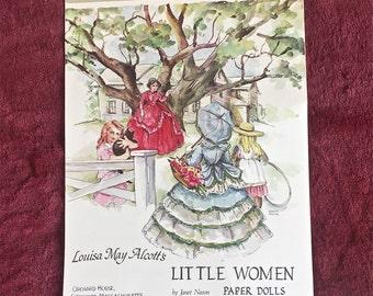 Louisa May Alcott's Little Women Paper dolls