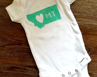 Montana Baby Onesie/Bodysuit