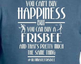 Happiness is Ultimate Frisbee
