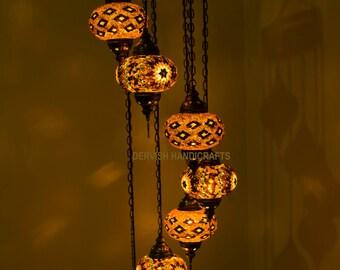 Chandelier LightingMoroccan LampTurkish Light Hanging Lamp Mosaic Lightingmoroccan