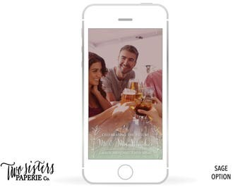 Simple Rehearsal Dinner Snapchat Filter - Rehearsal Snapchat Filter - Snapchat Geofilter - Navy Snapchat Filter - Rehearsal Dinner Snapchat