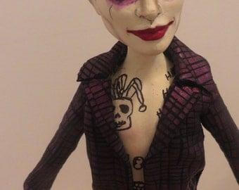 Joker ( Suicide Squad ) OOAK art doll
