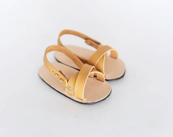 Leather Baby Sandal- Criss Cross