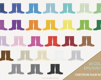 Chevron Rain Boots Vector, Galoshes Clipart, Rainboots Clip Art, Rain Boot SVG, Chevron Galosh PNG  (Design 13760)