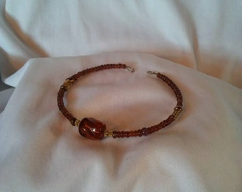 Brown Accented Bracelet
