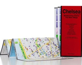 Red Map Chelsea New York City Guide