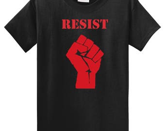 Resist Fist Occupy Movement Anti-Trump T-shirt