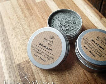 Bentonite Face Mask (Clay Face Mask, Tea Tree Face Mask, Activated Charcoal Face Mask, Oily Skin Mask)
