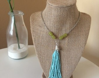 Waterfalls Long Necklace
