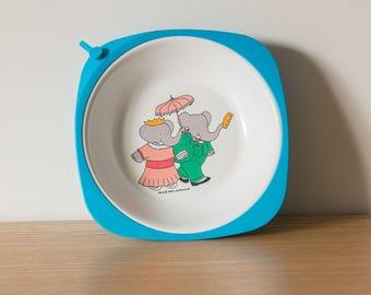 Plate Babar