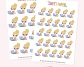 GIRL BOSS Planner Stickers - Ashley