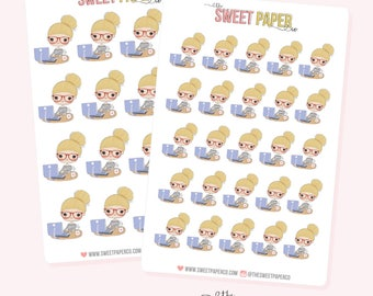 GIRL BOSS Planner Stickers - Ashley