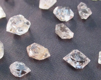Tibetan Herkimer Diamond - Attunement Stone, Clarvoyance, Claraudience, Body Tension, Remove Blockages from Path - Crystal Cave