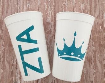 Zeta Tau Alpha Cup; Sorority Cup; ZTA Cup; Zeta Tau Alpha Cup; Zeta Cup; ZTA big little; Zeta Tau Alpha Tumbler; ZTA Gift; Sorority Cup