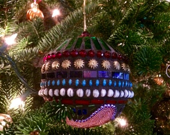 Mosaic Christmas Ornament