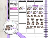 You're KITTEN me! FN-048 | 25 Hand-Drawn Planner Stickers