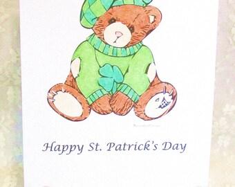St. Patrick's Day Bear