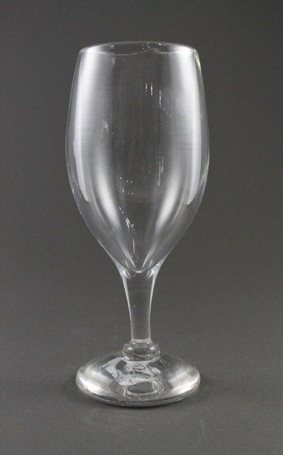 Hand Blown Wine Glass