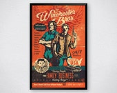 """Winchester Brothers Supernatural Family Business 